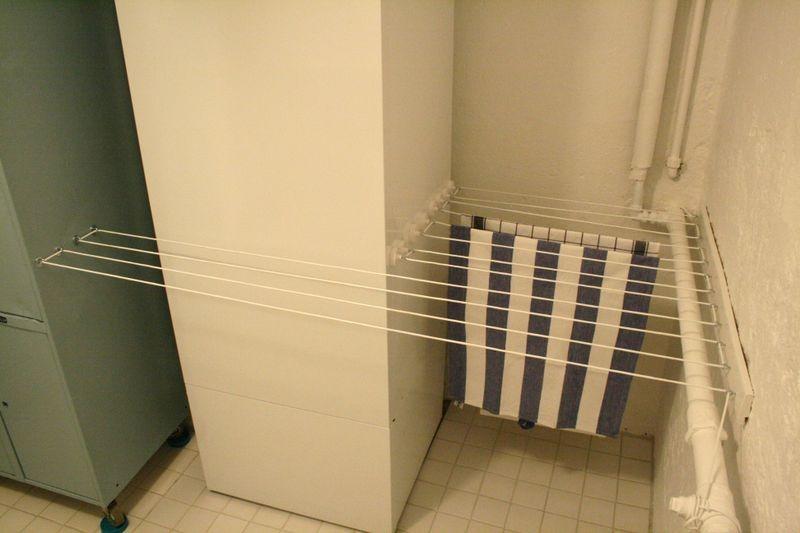 Веревки для сушки белья на лоджии своими руками