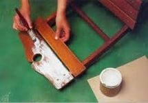 Как состарить мебель своими руками