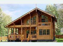Оцилиндрованный дом фото