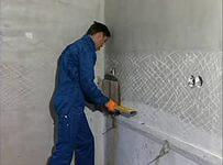 Подготовка поверхности под укладку плитки