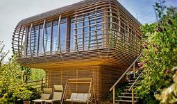 Внешняя отделка дома из дерева фото