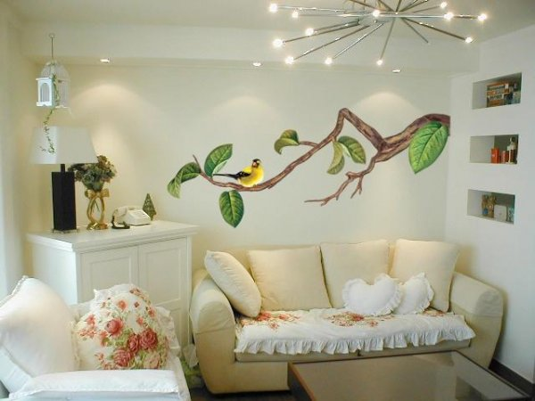 Настоящая декорация для стен