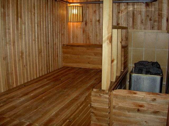фото-пример внутренняя отделка бани