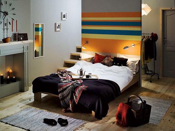 Готовый дизайн спальни в современных стилях
