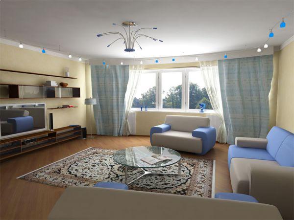 Современный дизайн интерьера квартиры своими руками - готовые примеры