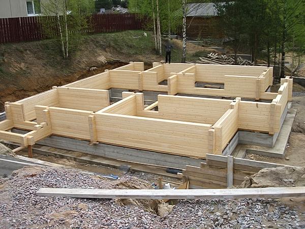 Как начать строить дом из бруса 25