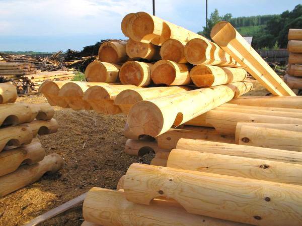 Завод по обработке брусового дерева