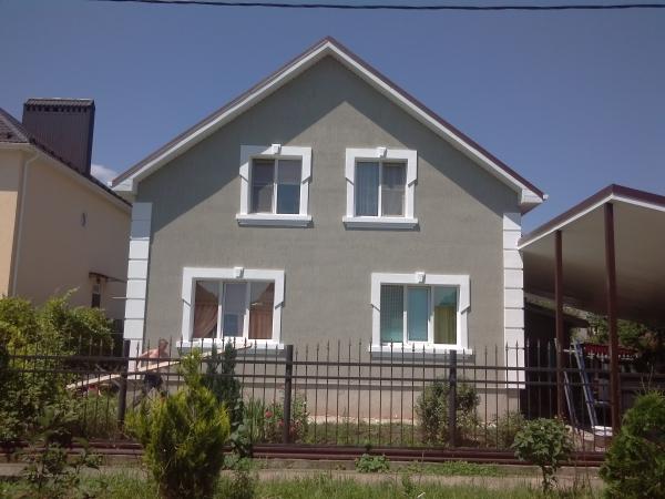 Внешняя отделка фасада дома