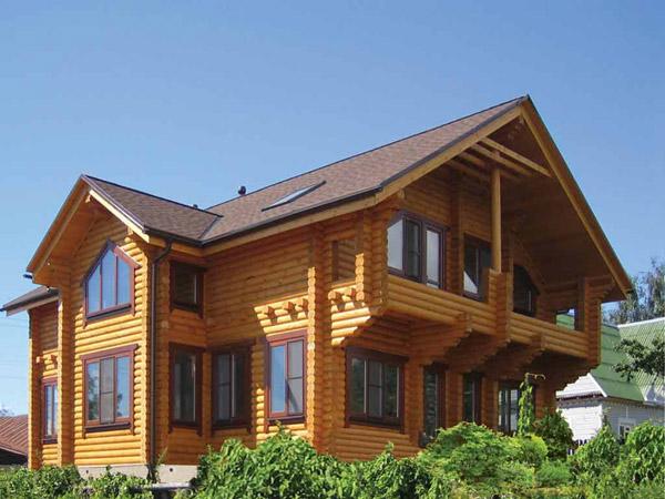 Построим частный дом из дерева