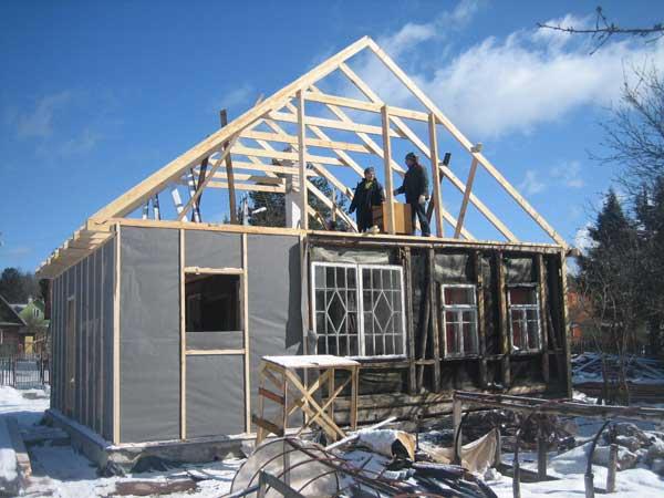 С чего начать строительство крыши для частного дома?