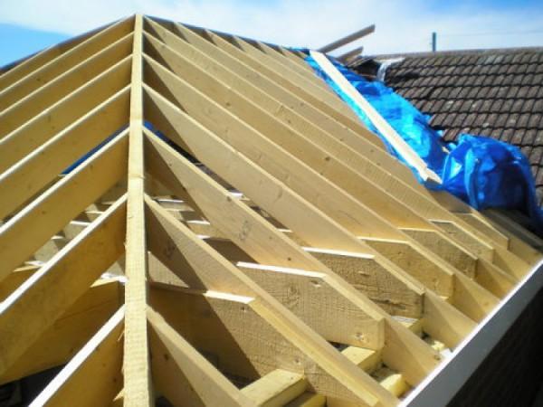 Строительство крыши своими руками чертеж