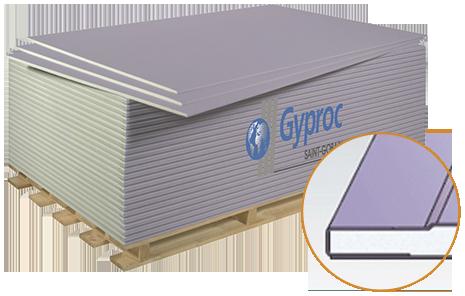 Гипсокартон на складе от компании GYPROC