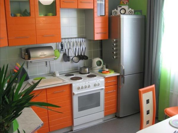 Фото дизайна кухни в хрущевке