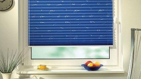 Установка жалюзи плиссе на пластиковые окна