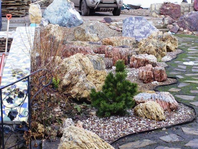 Камни для ландшафтного дизайна челябинск