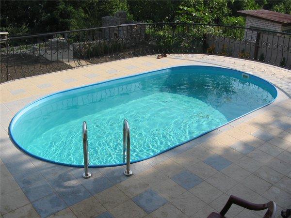 Устройство бассейна на загородном участке