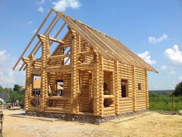 Распространенные способы строительства домов из дерева