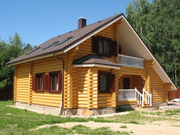 Преимущество строительства дома из бруса