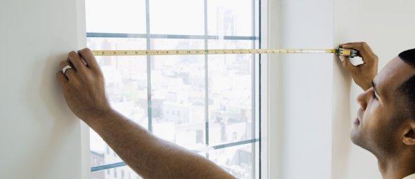 Как правильно выполнить замер окна?
