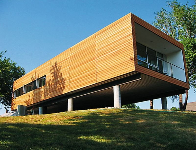 Современные технологии строительства жилых домов с использованием металлоконструкций позволяют сократить сроки