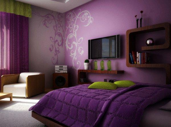 Как правильно выбирать обои для спальни?