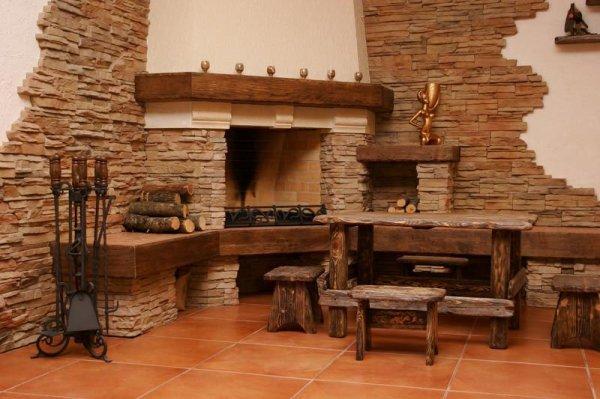 Декоративный камень - принцип изготовления и применение