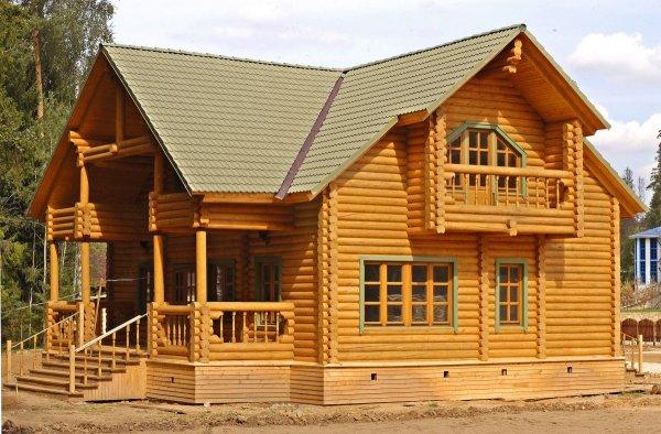 Дом из сруба – идеальное жилье для человека