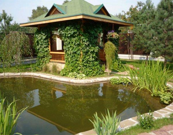 Как сделать водоем на загородном участке?