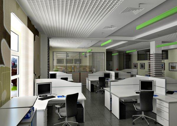 Современный офис в современном стиле