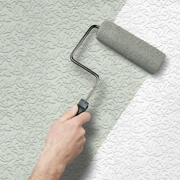 Покраска обоев – ремонт своими руками