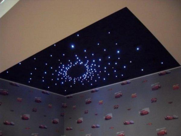 Как сделать звездный потолок?