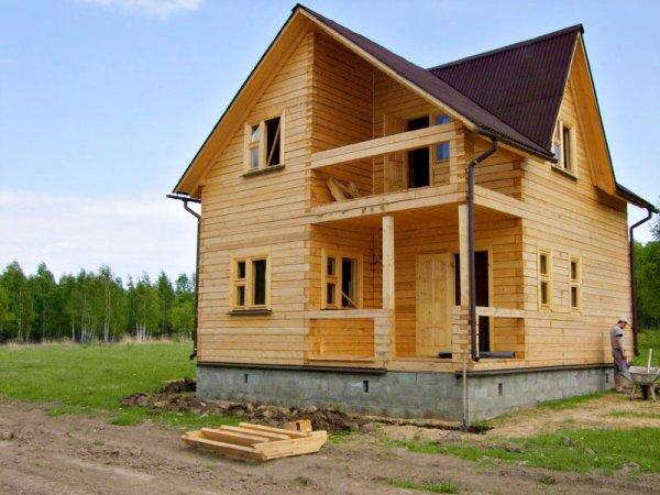 Как создать проект дома из бруса?