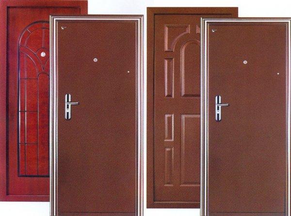 Недорогие стальные двери
