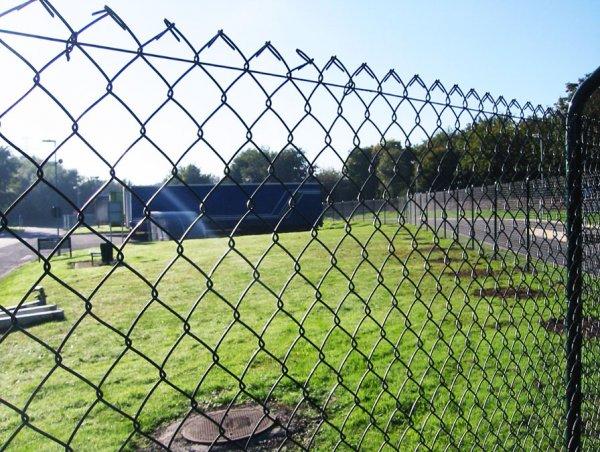 Забор из металлической сетки выгодно и удобно