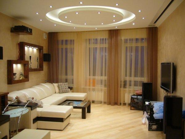Дизайн гостиной небольшого размера