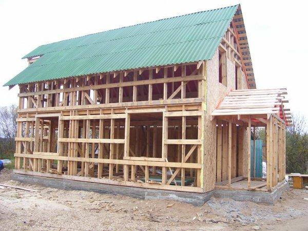 Строительство каркасных домов?
