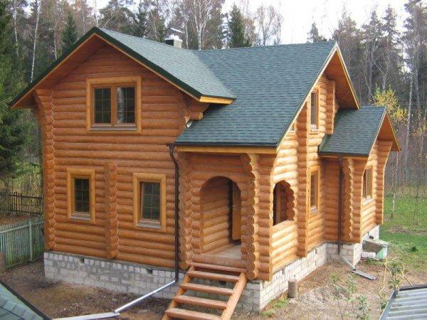 Преимущества строительства домов из сосны