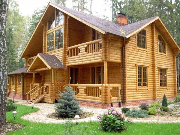 Как построить бревенчатый дом?