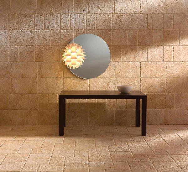 Использование керамогранита в дизайне интерьера
