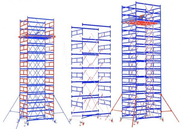 Вышки туры – функциональное оборудование на строительных участках
