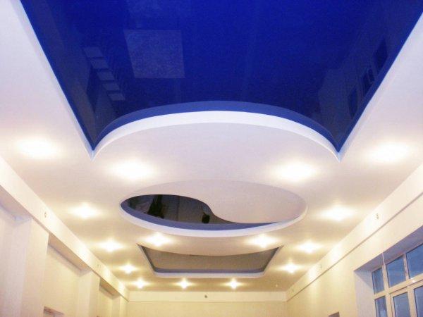 Натяжные потолки - особенности