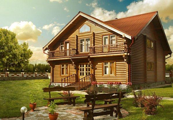 Хотите иметь оригинальный дом из дерева?