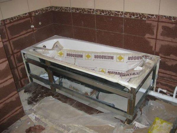 Как правильно выбрать и установить ванну?