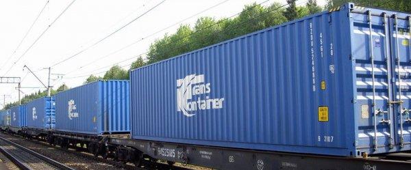 Контейнерные перевозки железнодорожными путями