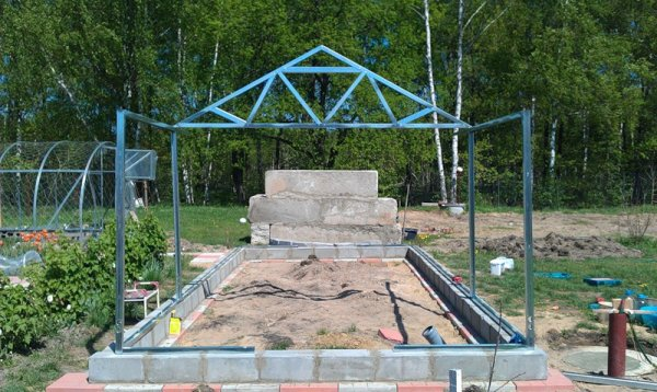Профиль для гипсокартона при строительстве домашней теплицы