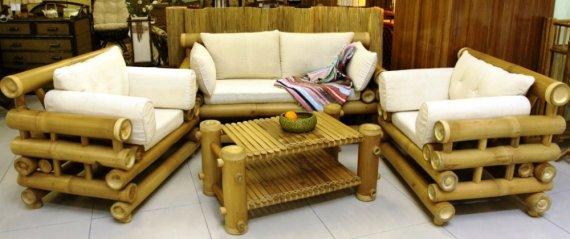 Мебель из бамбука в вашем интерьере