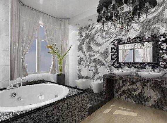 Ремонт в ванной комнате маленьких размеров