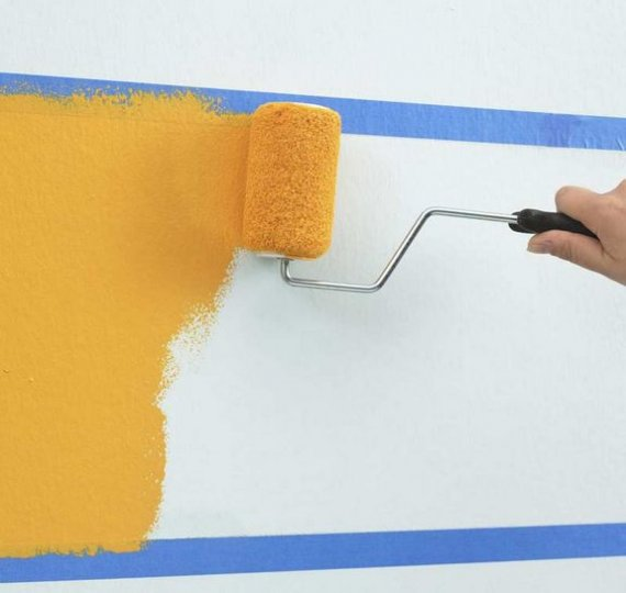 Покраска стен – практические шаги
