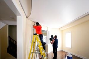 Натяжные потолки: преимущества и недостатки.