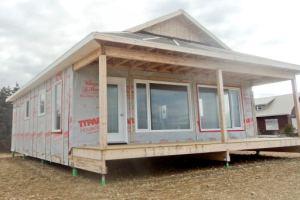 Постройка каркасных домов